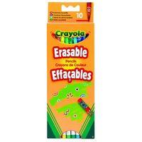 Kredki, Crayola, Core, Kredki ołówkowe, ścieralne, 10 szt.