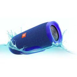 Głośnik mobilny JBL Charge 3 Niebieski Wodoodporny IPX7 + DARMOWY TRANSPORT!