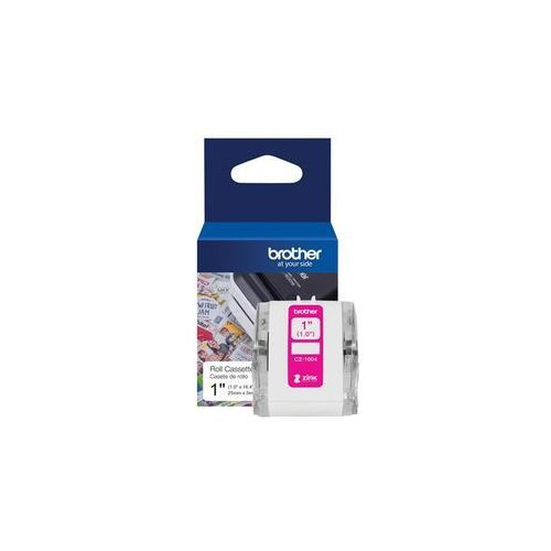 Papiery fotograficzne, Brother CZ-1004 - continuous labels - 1 roll(s) - Roll (2.54 cm x 5 m)