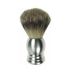 Dusy pędzel do golenia, rękojeść aluminiowa