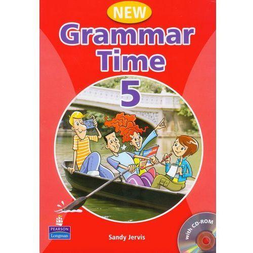 Książki do nauki języka, New Grammar Time 5 Student's Book (podręcznik) +Multi-ROM (opr. kartonowa)