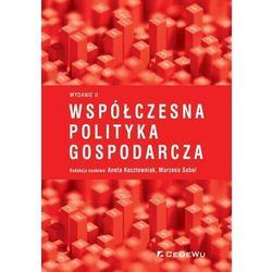 Współczesna polityka gospodarcza - książka (opr. miękka)