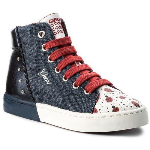 Półbuty i trzewiki dziecięce, Sneakersy GEOX - J Ciak G. C J8204C 013AJ C4262 S Jeans/Navy