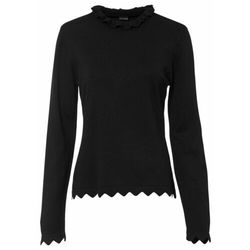 Sweter bonprix czarny