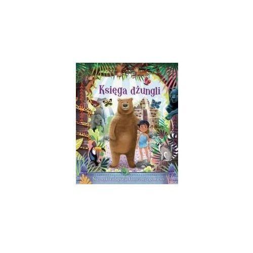 Książki dla dzieci, Księga dżungli w. 2017 - Jenny Woods (opr. twarda)