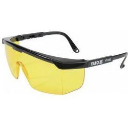 Okulary ochronne żółte typ 9844 Yato YT-7362 - ZYSKAJ RABAT 30 ZŁ
