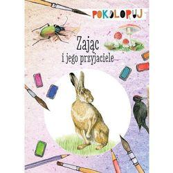 Zając i jego przyjaciele. Pokoloruj - Kopiec-Sekieta Katarzyna (opr. miękka)