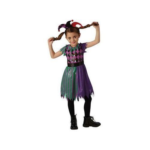 Kostiumy dla dzieci, Kostium Straszny Pajacyk dla dziewczynki - Roz. S