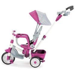 Little Tikes Trójkołowy rowerek 4w1 Perfect Fir, różowy