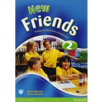 Książki do nauki języka, New Friends 2 Podręcznik z płytą CD (opr. miękka)