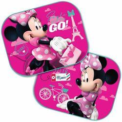 ZASŁONKI BOCZNE DO AUTA OSŁONY 2 SZT Disney MINNIE