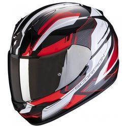 SCORPION KASK INTEGRALNY EXO-390 BOOST BK-WH-RED