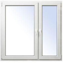 Okno PCV rozwierne + rozwierno-uchylne 1465 x 1435 mm prawe