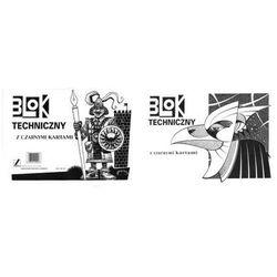Blok techniczny Kreska A4/10k. 00014 czarny