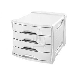 Pojemnik z 4 szufladami ESSELTE Europost VIVIDA biały