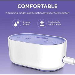 Lansinoh Laktator Compact Single Electric Breast Pump elektryczny + Power Bank