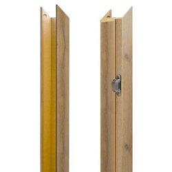 Baza ościeżnicy regulowana 80 - 95 mm prawa do drzwi bezprzylgowych dąb grandson