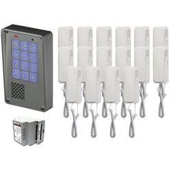 Zestaw 16-rodzinny Radbit Cyfrowy panel domofonowy wielorodzinny z szyfratorem KEC-4 NT MINI GD36