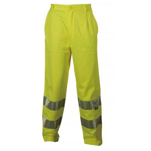 Spodnie i kombinezony ochronne, Spodnie robocze ostrzegawcze żółte, rozmiar S
