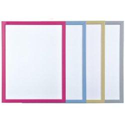 Tablica suchoś. BI-OFFICE 60x40cm kolorowa rama