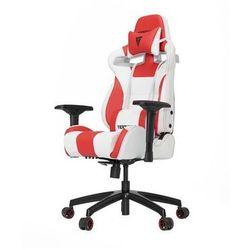 Vertagear S-Line SL4000 Racing Series Krzesło gamingowe - Biało-czerwony - Skóra PU - 150 kg