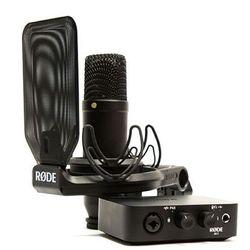 Rode NT1 + AI Interface Bundle studyjny mikrofon pojemnościowy z interfejsem audio Płacąc przelewem przesyłka gratis!