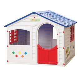 Domek dla dzieci LITTLE HOUSE - szer. 130 × szer. 106 × wys. 115 cm