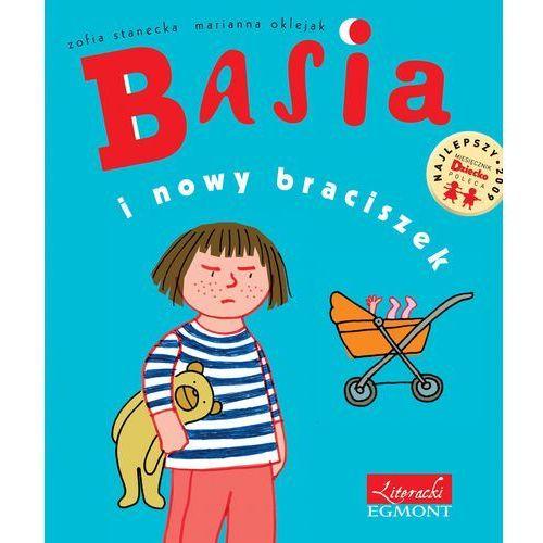 Książki dla dzieci, Basia i nowy braciszek (opr. twarda)