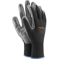 Rękawice robocze, RĘKAWICE OCHRONNE OX.13.656 NITRICAR 9 - OX-NITRICAR BS