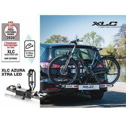 XLC Azura Xtra CC-C05 bagażnik platforma na 2 rowery na hak uchył 60 kg e-bike LED