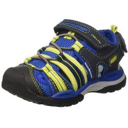 Geox chłopcy J Borealis Boy C sandały - niebieski - 33 EU
