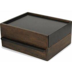 Umbra Stowit orzech szkatułka na biżuterię