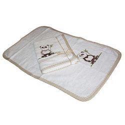 Kieczmierski Ręcznik Antyalergiczny bambusowy z haftem Panda 30/50cm