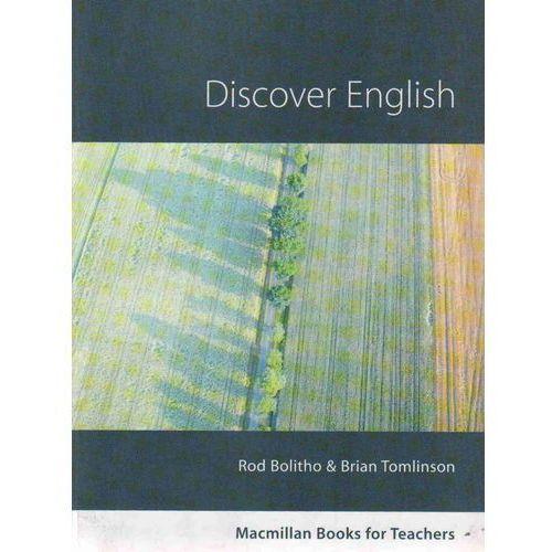 Książki do nauki języka, Discover English. Macmillan Books For Teachers (opr. miękka)