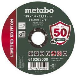 METABO TARCZA TNĄCA NOVORAPID 125x1,0x22,23mm INOX
