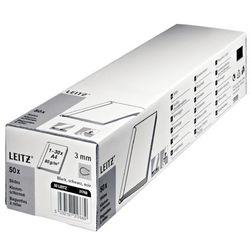 Grzbiet wsuwany LEITZ 12mm - czarny 21790