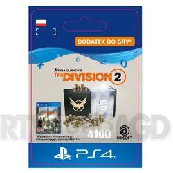 Tom Clancy's The Division 2 - Pakiet 4100 Kredytów [kod aktywacyjny] PS4