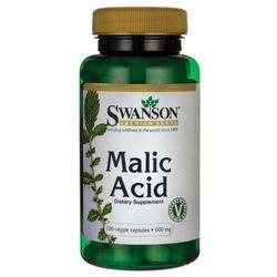 Swanson Malic Acid (kwas jabłkowy) 600mg - (100 kap)
