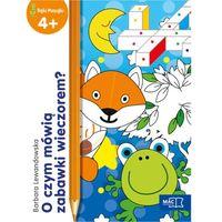 Książki dla dzieci, O czym mówią zabawki wieczorem? - Barbara Lewandowska (opr. miękka)