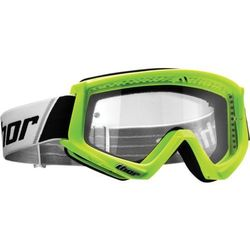 THOR GOGLE COMBAT OFFROAD FLO GREEN/BLACK =$