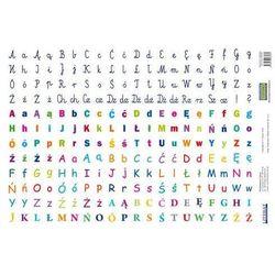 Naklejki Litery/Alfabet (240 naklejek)