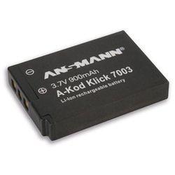 Akumulator ANSMANN do Kodak A-Kod Klic 7003 (900 mAh)