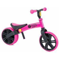 Yvolution YVelo Junior Rowerek biegowy - różowy - YV101050- Zamów do 16:00, wysyłka kurierem tego samego dnia!