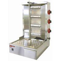 Pozostała gastronomia, Gyros gazowy | 25-35kg | 150W | 580x660x(H)870mm