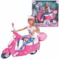 Pozostałe lalki i akcesoria, Hello kitty steffi love scooter