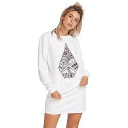 bluza VOLCOM - Sound Check Fleece White (WHT) rozmiar: M