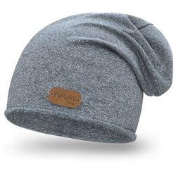 Wiosenna czapka chłopięca PaMaMi - Jeansowy - Jeansowy