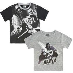 Disney zestaw koszulek chłopięcych Star Wars 128 szary - BEZPŁATNY ODBIÓR: WROCŁAW!
