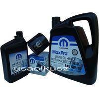 Oleje silnikowe, Oryginalny MOPAR filtr oraz mineralny olej 5W30 Chrysler Aspen 4,7 V8 2008-