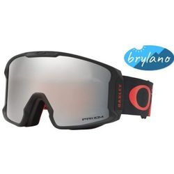 Gogle Oakley Line Miner Harlaut Red Black Prizm Snow Black Iridium OO7070-41